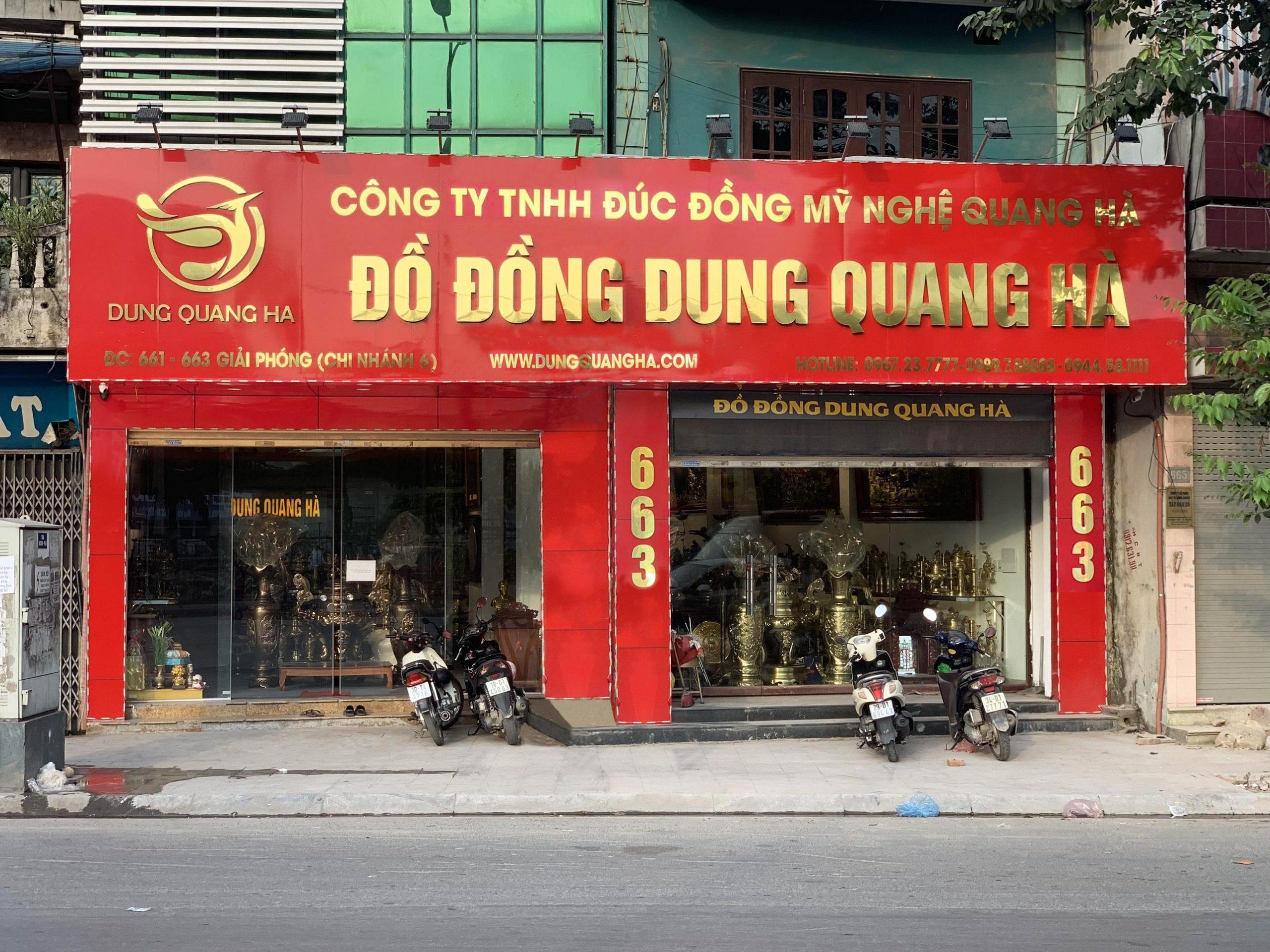 Showroom Đồ Đồng Dung Quang Hà - 663 Giải Phóng