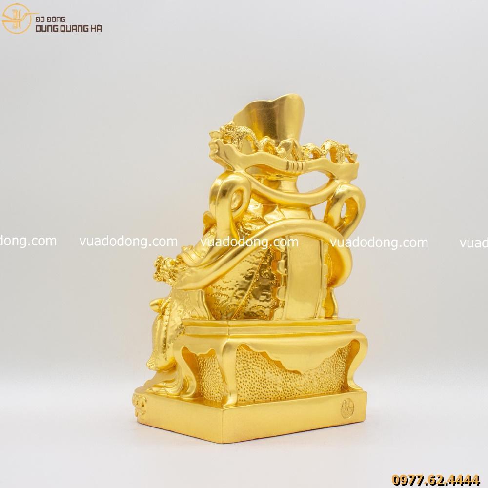 Tượng ông thần tiền - thần phát dát vàng 9999