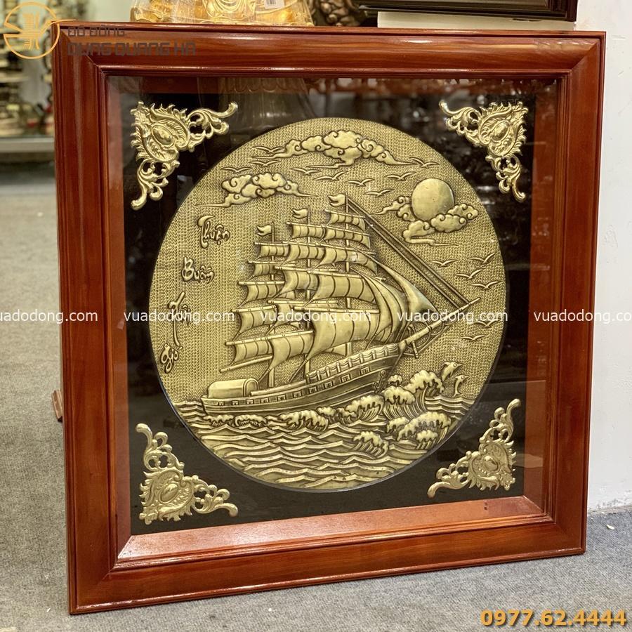 Tranh Thuận buồm xuôi gió với họa tiết tinh tế, sắc nét