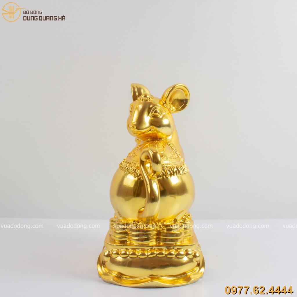 tượng chuột ôm hồ lô