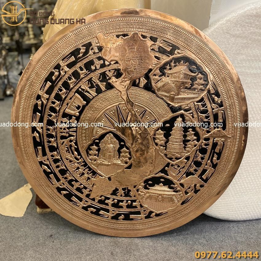 Mặt trống đồng vàng thúc nổi danh lam thắng cảnh Việt Nam