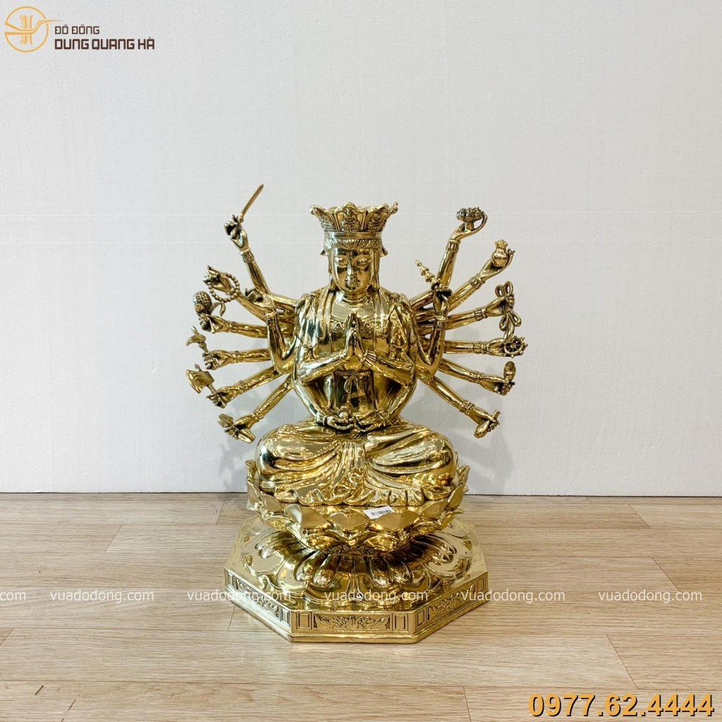 Tuong Chuan De dong vang bong 48cm (5)