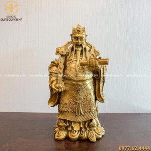 Tượng Ông Lộc bằng đồng vàng (1)