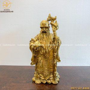 Tượng Ông Thọ bằng đồng vàng (1)