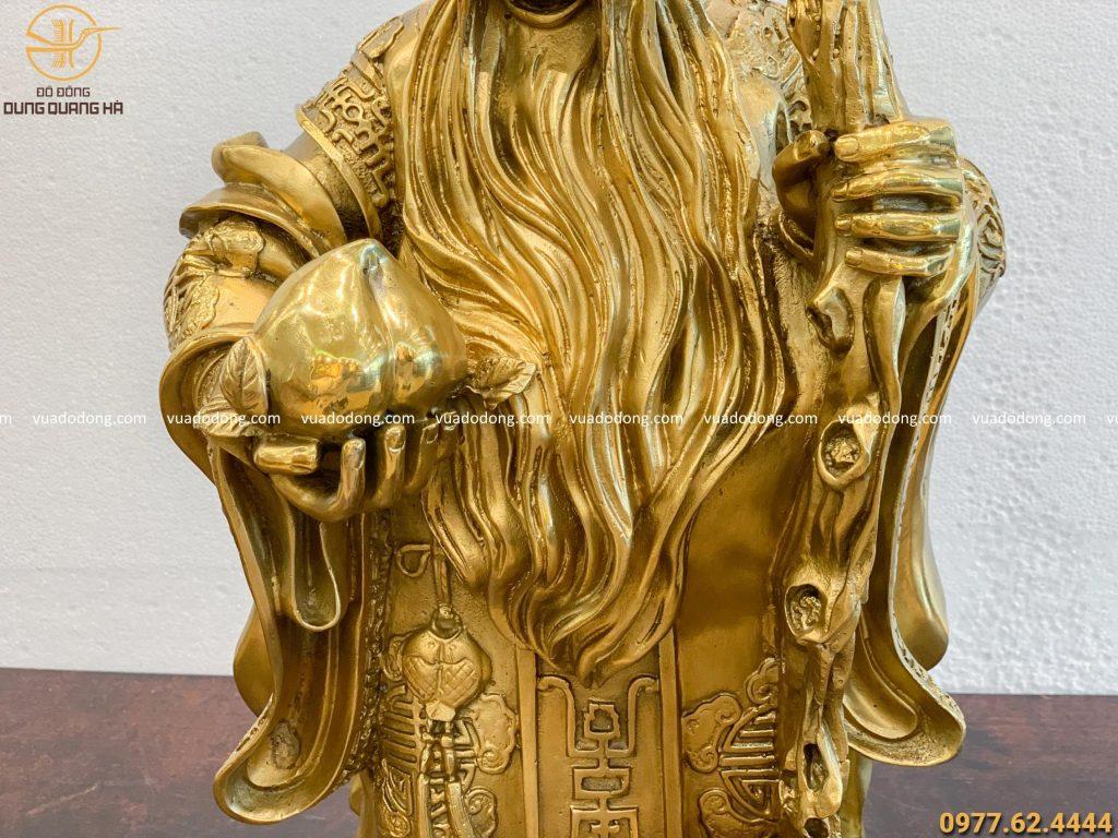 Tượng Ông Thọ bằng đồng vàng sang trọng