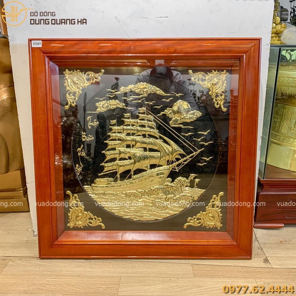 Tranh Thuận Buồm Xuôi Gió mang vẻ đẹp đẳng cấp