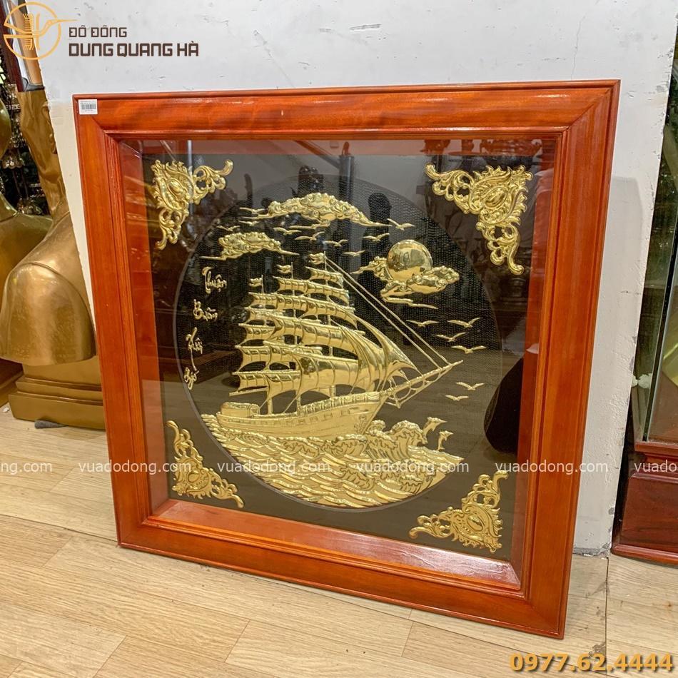 Tranh Thuận Buồm Xuôi Gió với thiết kế sang trọng