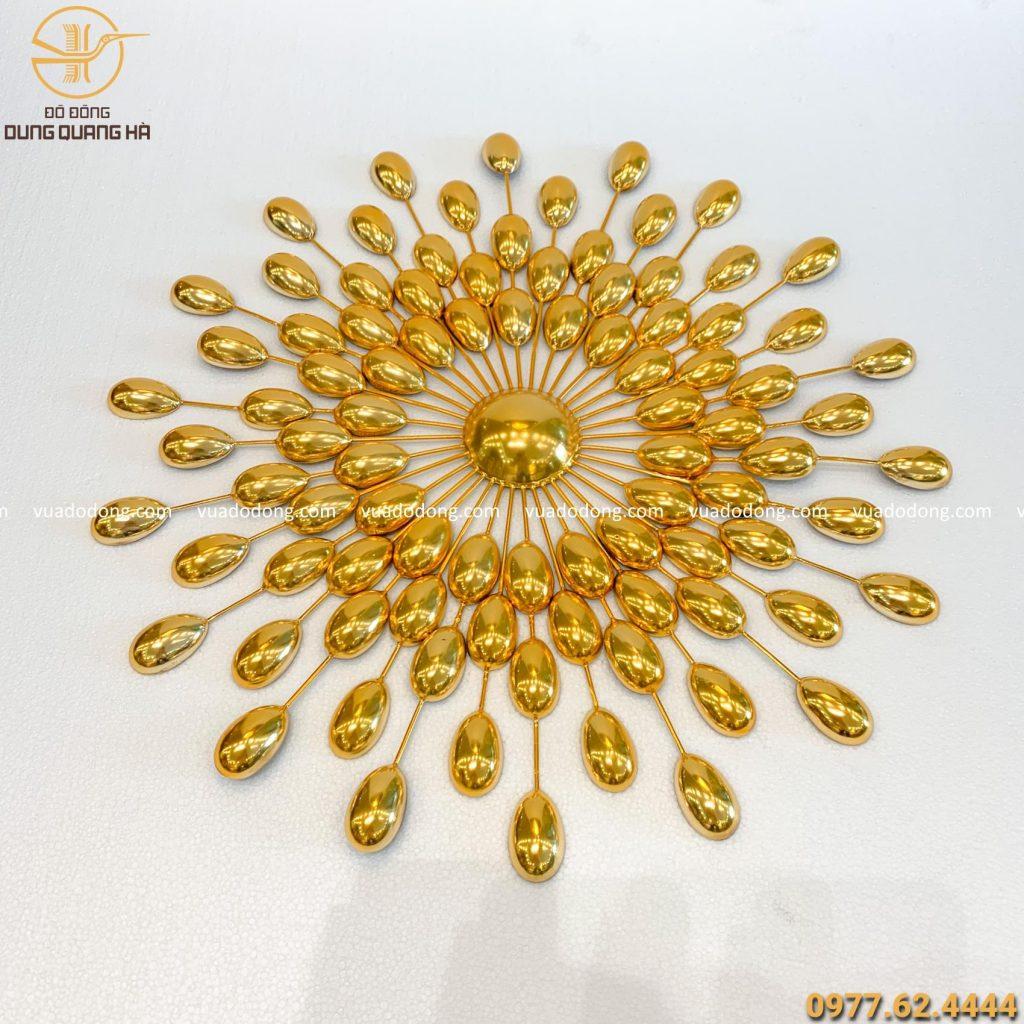 Tranh Hạt mạ vàng 50cm