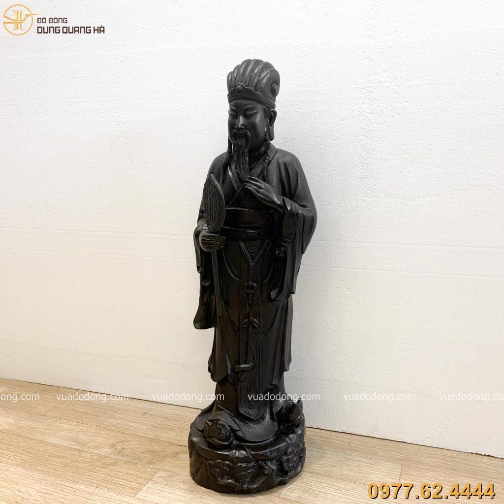Tượng Khổng Minh với tạo hình bắt mắt