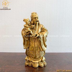 tượng ông Phúc bằng đồng vàng (1)