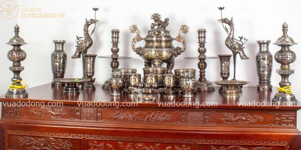 Vua Đồ Đồng - cơ sở chuyên đồ thờ bằng đồng Nam Định số 1 tại Việt Nam