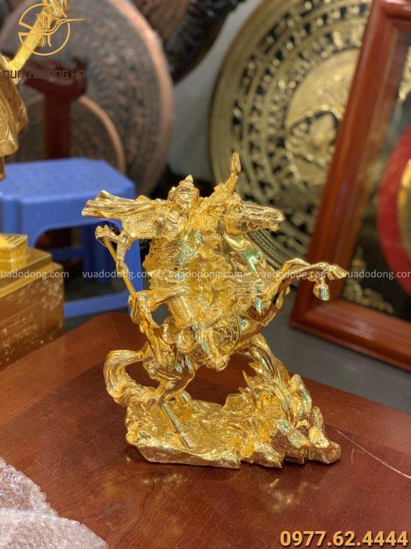 Tượng Quan Vân Trường cưỡi ngựa (4)
