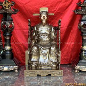 Tượng Thần Hoàng bằng đồng đỏ (7)