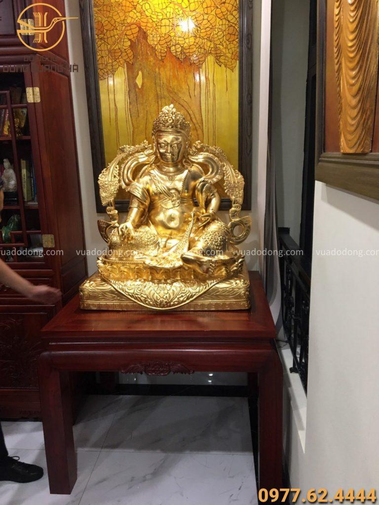 Tượng Thần Tài cao 1m01 thiết kế theo yêu cầu của khách