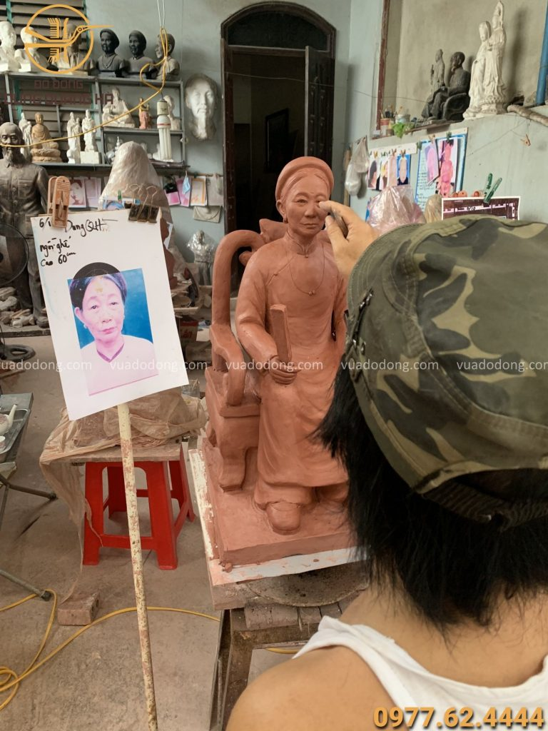 Quy trình sản xuất tượng chân dung