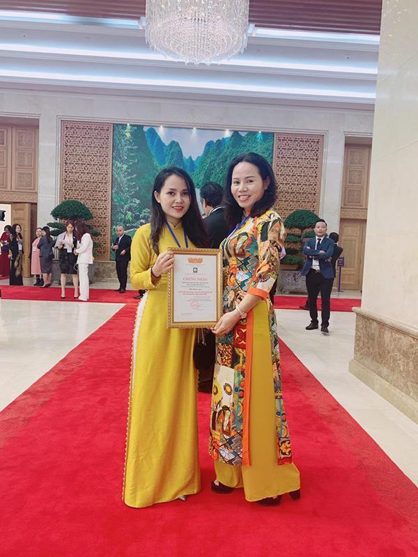 Đồ Đồng Dung Quang Hà vinh dự nhận bằng khen từ Thủ Tướng