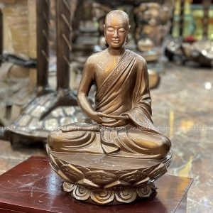 Tượng Phật Trần Nhân Tông