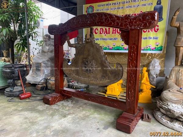 Bàn giao Khánh đồng 305kg cho chùa Chánh Đẳng Giác - Tây Ninh