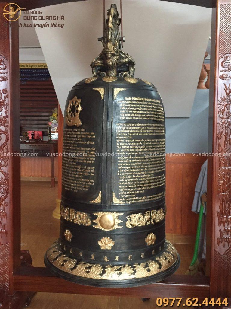 Giao chuông cho chùa Từ Tâm