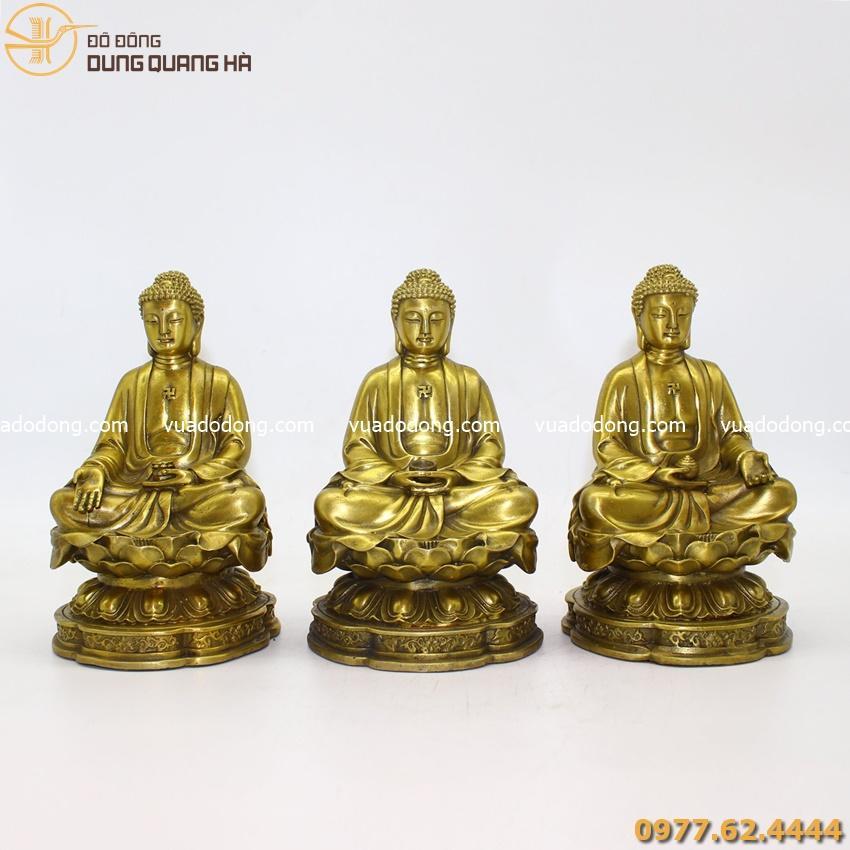 Tượng Phật A Di Đà đẹp nhất bằng đồng nguyên chất