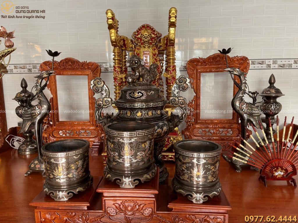 cách đặt bát hương trên bàn thờ